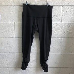 lululemon athletica Pants - Lululemon black Sweaty endeavor tight sz 10 61971